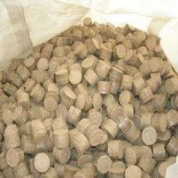 White Bio Coal Pellets