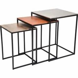 iron Modern Side Table, For Home