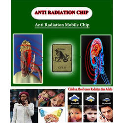 Gold Patch Mobile Anti Radiation Chip