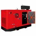 Mild Steel 10 Kva Three Phase Eicher Used Silent Diesel Generator