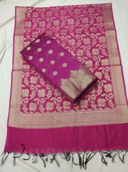 Chanderi Cotton Suit