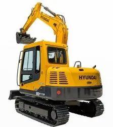 Hyundai R80 SMART Small Crawler Excavator, 8 ton, 60 hp