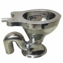 Floor Stainless Steel European Water Closet Ewc