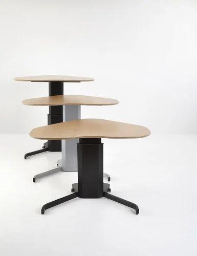 Premium Single Leg Electric Desk ( Conset Europe Make)