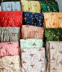 Fancy Silk Embroidery Fabrics