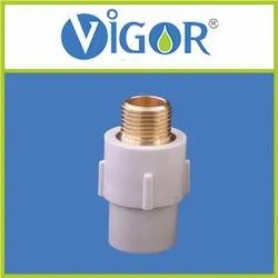 UPVC Reducer Brass M.T.A. 1X1/2