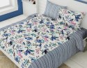 Bedsheet Double Bed Cotton Bird Printed