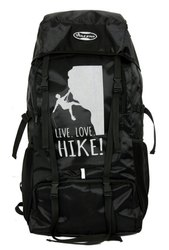 Polyester Hike Rucksack Backpack, Number Of Compartments: 4