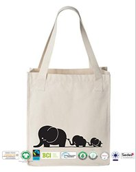 Gots Organic Cotton Grocery Bag
