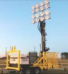Heavy Mobile Light Tower
