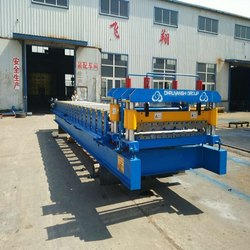 15HP Corrugated Metal Roofing Sheet Making Machine