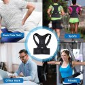 Posture Corrector Adjustable Pain Relief Backrest Belt