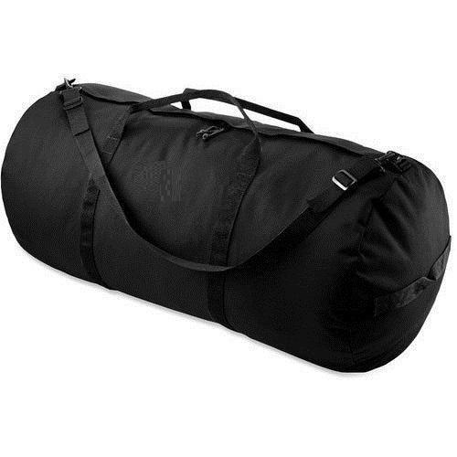 1a3a6ccdc483 Black Plain Duffel Bags