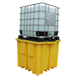 IBC Spill Pallet with 4 Way FLT Access for 1 x 1000ltr IBC - (BB1FW)