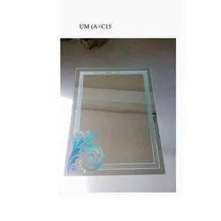 Rectangular Decorative Glass Mirror