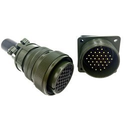 Sibass 35 Pin Industrial Metal Round Connectors