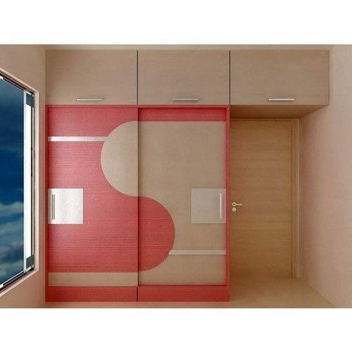 Designer Bedroom Wardrobe, लकड़ी की अलमारी - Trisquare, Kochi