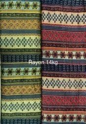 Lining Design Printed Rayon  Fabric, For Textile Industries, Packaging Type: Roll