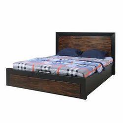 uk availability 3fc9b a78ee Nilkamal Black/oak Henley King Bed, Maa Gayatri Enterprises ...