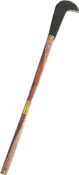 Bill Hook With Long Wooden Handle