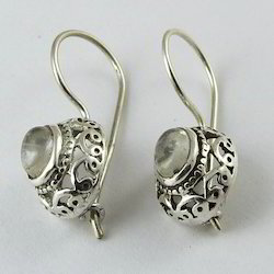 Big Silver Earring
