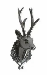 Deer Head Stag Aluminium Wall Mount Animal Head Decor