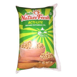 oil fresh nature refined soyabean litre packaging india