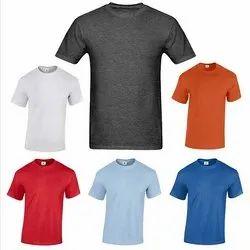 Polyester Round Neck T-Shirt