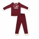 Kids Striped Night Suit