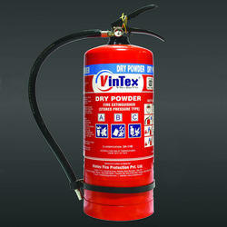 Carbon Steel Vintex Brand 6 Kg ABC Stored Pressure Fire Extinguisher for Industrial