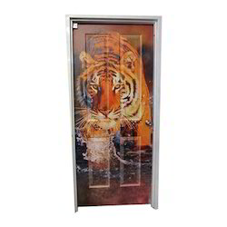 PVC Digital Printed Door, Size/Dimension: 7-8ft(height)