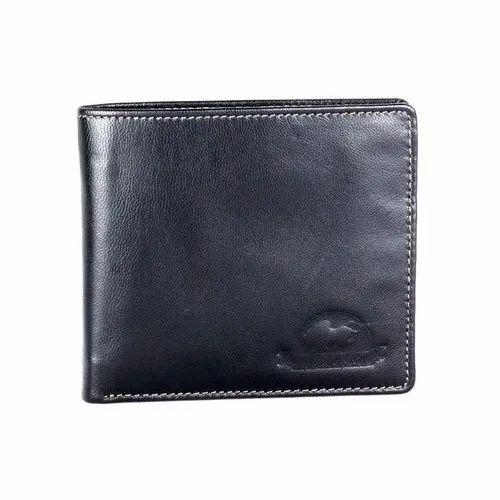 Men's Black Leather Wallet