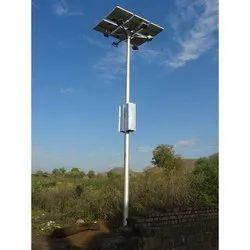 High Mast Solar LED Light Pole