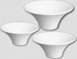 White Flower Bowls