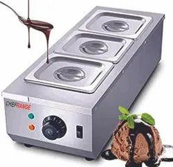 Chocolate Warmer 3 Pan
