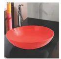 Mozio Italian Ceramic Orange Cbm Wash Basin, For Home, Model Name/number: C9000