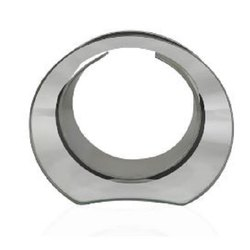 Glass Silver Metal Ring, For Decoration, Size: 6''x5.5''