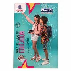 Guruji Perfect Bound Jumbo School Notebook, Size: A4