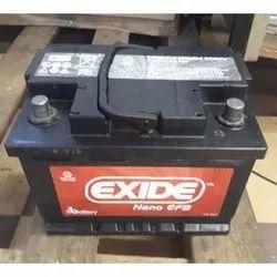 Lead Acid Exide Nano EFB Battery, 12 V, Heavy Vehicle Battery