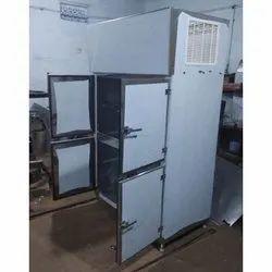 Cool Era Stainless Steel 4 Door Vertical Refrigerator