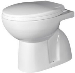 S Trap Ceramic EWC Toilet Seats for Bathroom Fitting