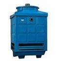 Blue Rectangular Type Cooling Tower, Supply Voltage:380v/50hz/3p