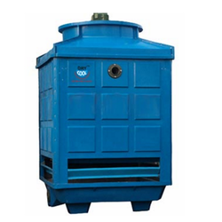 Blue Rectangular Type Cooling Tower, Supply Voltage:380v/50Hz/3P