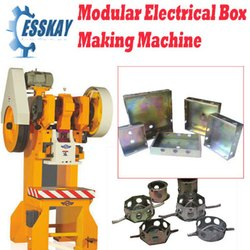 Modular G.I Electric Box Making Machine