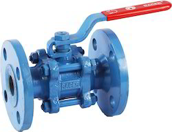 Gurukrupa Engineers Flanged End Cast Steel Ball Valve, Size: 15to 250mm