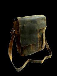 Vintage Flap Leather Messenger Bag