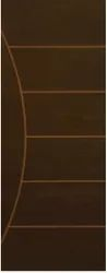 Brown 72 Inch Laminated Doors, For Home, Size/Dimension: 26 Inches Onwards