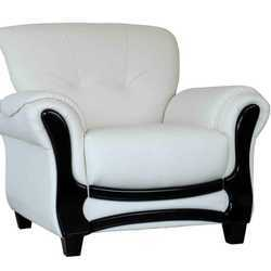 Strange White Single Sofa Chair Pabps2019 Chair Design Images Pabps2019Com