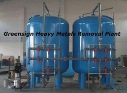 Heavy Metals Removal Plant