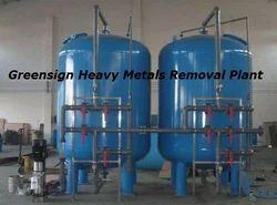 Heavy Metals Removal Plant